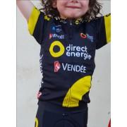 Maillot Direct Energie 2018 enfant