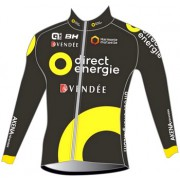 Maillot Direct Energie manches longues
